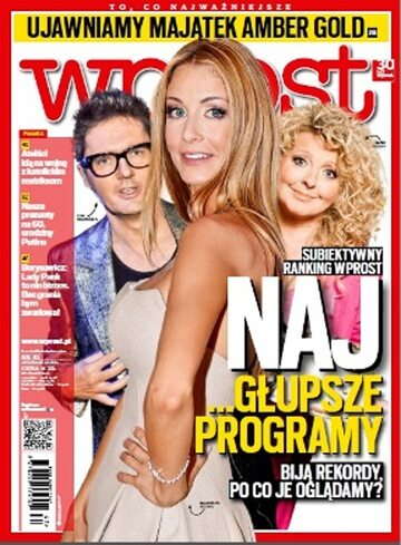 Okładka tygodnika Wprost nr 41/2012 (1547)