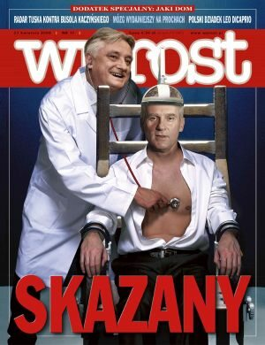 Okładka tygodnika Wprost nr 17/2008 (1322)