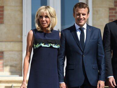 """Nastoletni Emmanuel Macron napisał o romansie z Brigitte? """"To była..."""