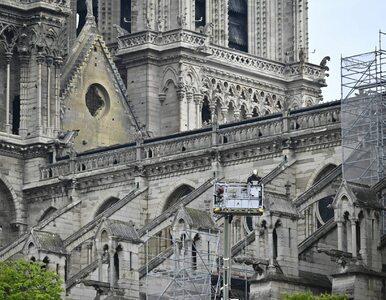 Kilka godzin przed pożarem na katedrze Notre Dame zamontowano kamerę. Co...