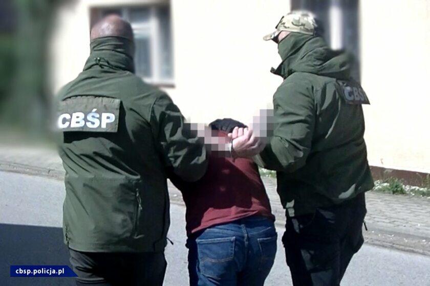 Podejrzani zatrzymani przez policję