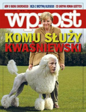 Okładka tygodnika Wprost nr 38/2007 (1291)