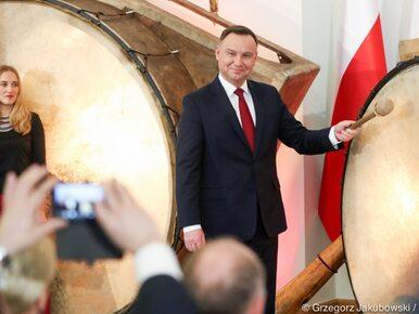 """Andrzej Duda wybił """"puls niepodległości"""". """"Chciałbym, żeby te bębny..."""