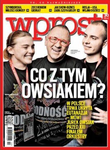 Okładka tygodnika WPROST: 2/2013