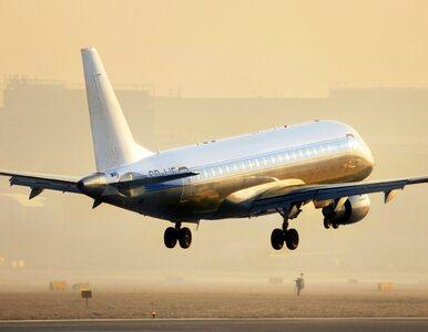 Samolot polskich linii lotniczych walczy z siłą wiatru. Do sieci trafiło...