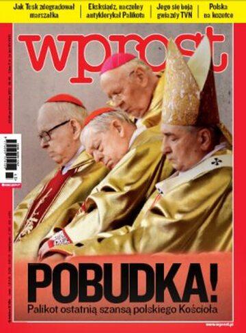 Okładka tygodnika Wprost nr 43/2011 (1498)