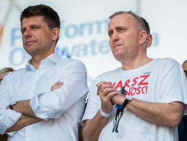 Brudziński: Schetyna i Petru przestają panować nad emocjami społecznymi