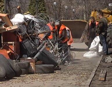 W Doniecku separatyści budują barykady przed siedzibą Rady Obwodowej