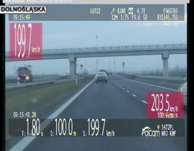 Jechała Skodą ponad 200 km/h. Srogie konsekwencje