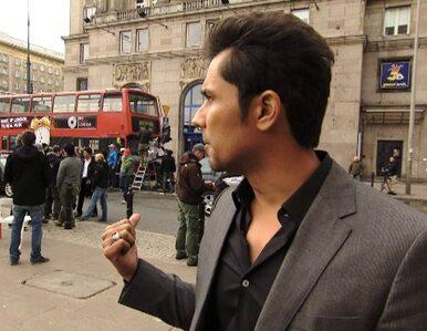 Gwiazdy z Bollywood kręcą w Warszawie