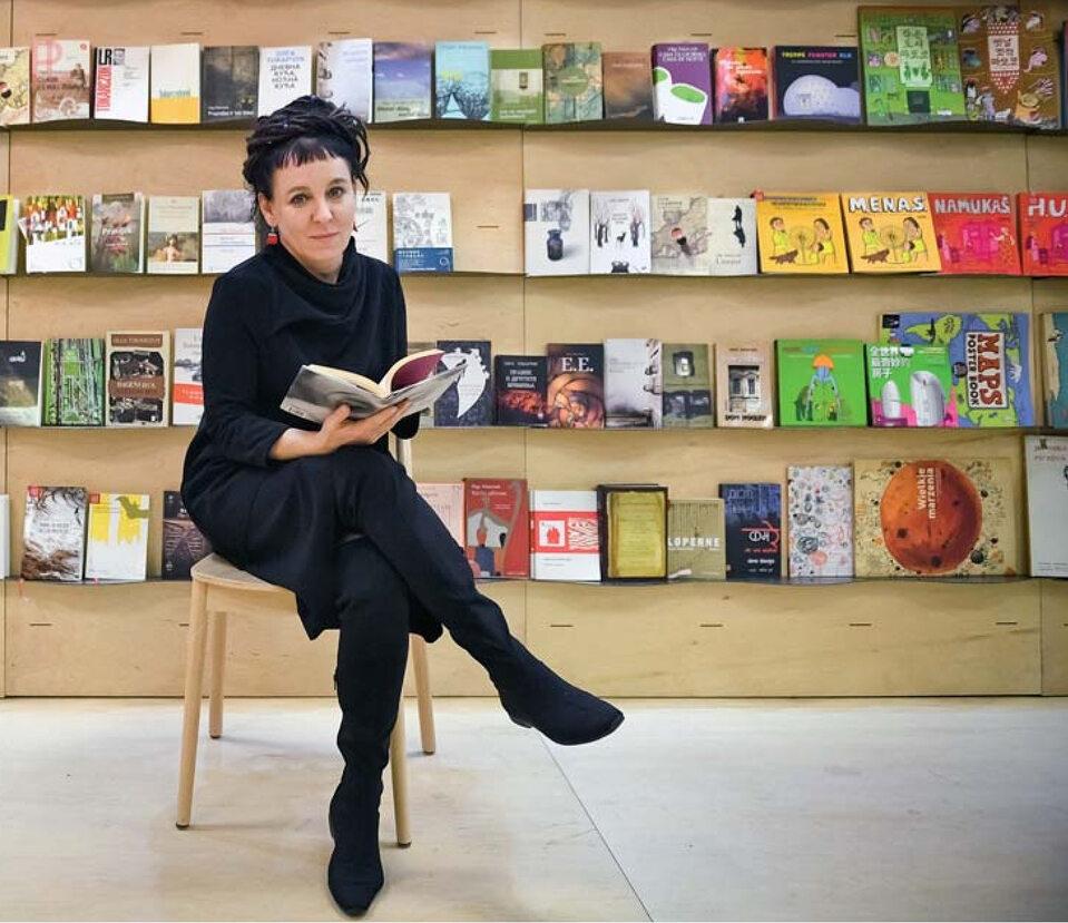 Londyn, 15 marca 2017 r. – Olga Tokarczuk na Targach Książki w stolicy Wielkiej Brytani