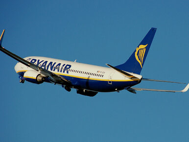 Chwile grozy na pokładzie Ryanaira. Silny wiatr kołysał samolotem...