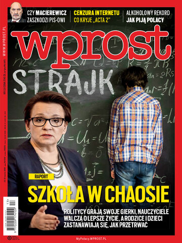 Okładka tygodnika Wprost nr 13/2019 (1879)