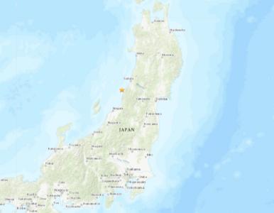 Potężne trzęsienie ziemi w Japonii. Ostrzeżenie przed tsunami