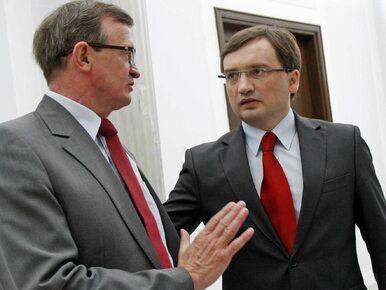 """""""Mam do Ziobry o to żal"""". Partyjny kolega krytykuje ministra"""