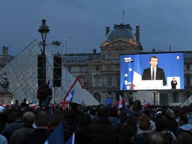 Macron do zebranych przed Luwrem: Pogodzę was wszystkich. Chcę jedności...