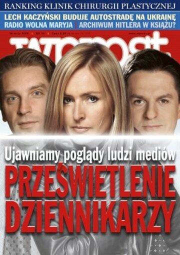 Okładka tygodnika Wprost nr 19/2006 (1222)