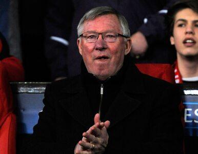 Liga Mistrzów: Manchester odpadł, Ferguson płakał