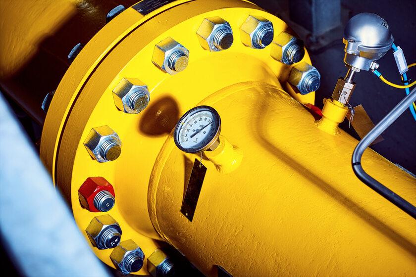 Gazociąg, zdjęcie ilustracyjne