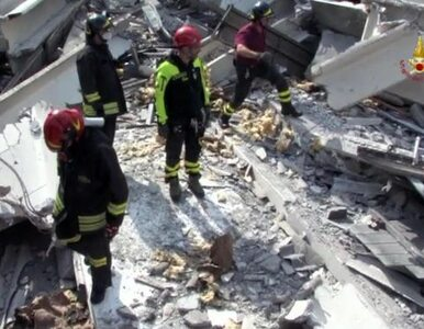 We Włoszech wciąż trzęsie się ziemia. 100 wstrząsów wtórnych na północy...
