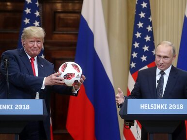 Trump dostał od Putina piłkę mundialową. Chip w środku może posłużyć do...