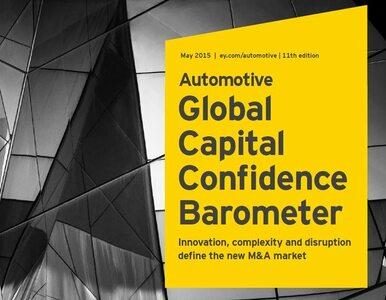 Raport EY: Sektor motoryzacyjny w coraz lepszej kondycji, więc planuje...