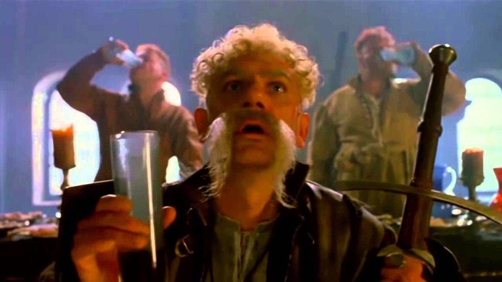 """Wiktor Zborowski jako Longinus Podbipięta w filmie """"Ogniem i mieczem"""" (1999)"""