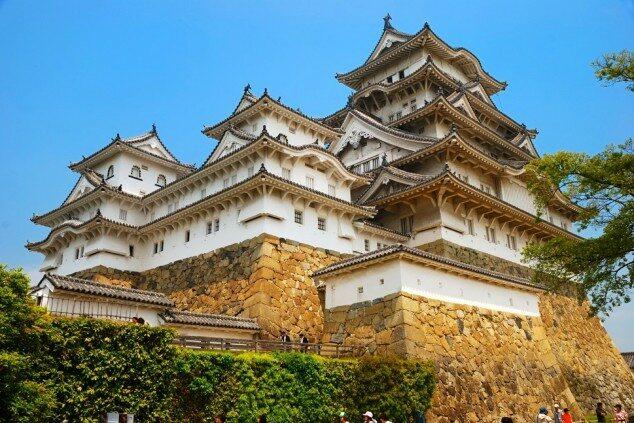 Zamek w Himeji, Japonia