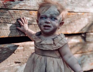 Zamieniła 11-miesięczną córkę w zombie. Te zdjęcia są dla ludzi o...
