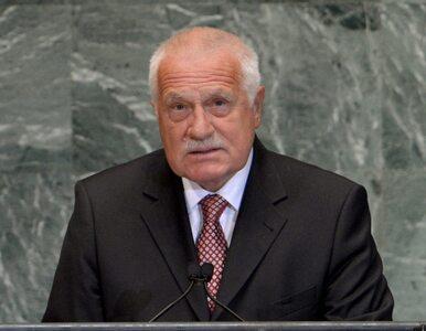 Kilka razy strzelił do prezydenta Czech