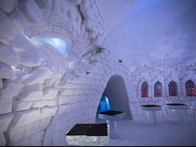 """Hotel z lodu i śniegu. Inspirowany """"Grą o Tron"""" obiekt powstał w Laponii"""