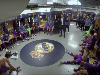 Finał Ligi Mistrzów. Real Madryt opublikował nagranie z szatni. Co...