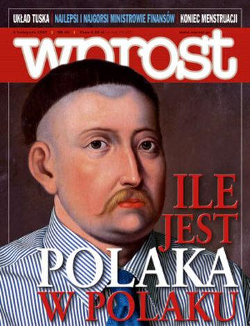 Okładka tygodnika Wprost nr 44/2007 (1297)