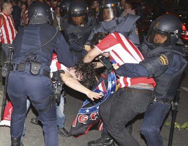 Liga Europejska: Atletico wygrało, Madryt świętował, 37 osób jest rannych