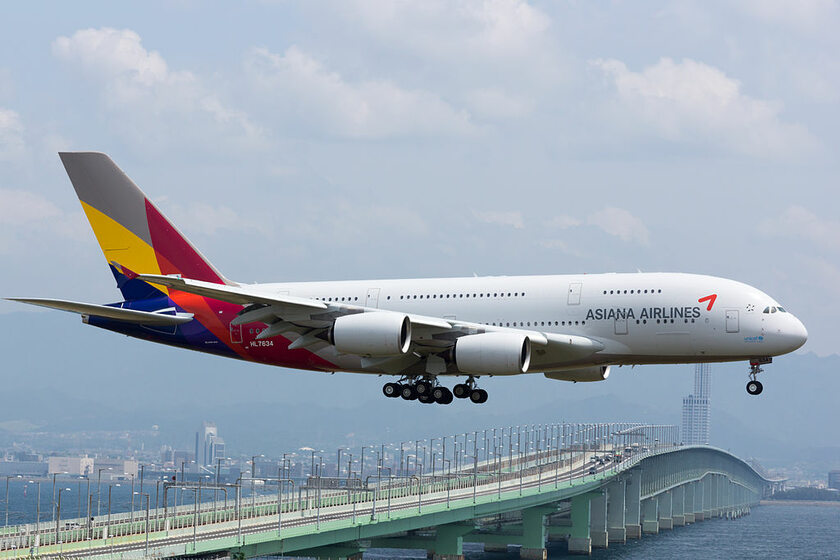 Airbus A380 linii Asiana Airlines