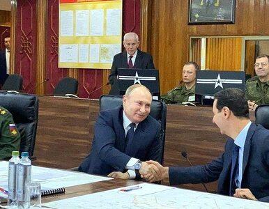 Niespodziewana wizyta Władimira Putina. Prezydent Rosji poleciał do Syrii