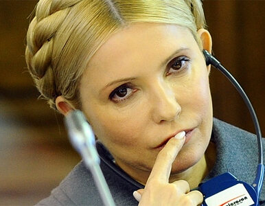 """""""Julia Tymoszenko nie wymaga operacji"""""""