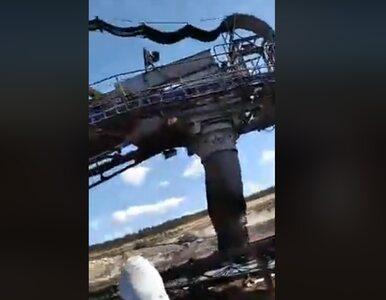 Aktywiści weszli na teren kopalni węgla brunatnego w Drzewcach