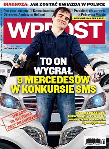 Okładka tygodnika Wprost nr 31/2009 (1386)