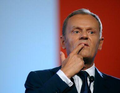 Tusk: Palikot? Skandalista, ale wnosi coś świeżego