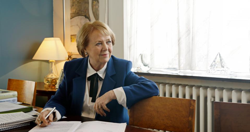 Vigdís Finnbogadóttir, prezydent Islandii w latach 1980-96