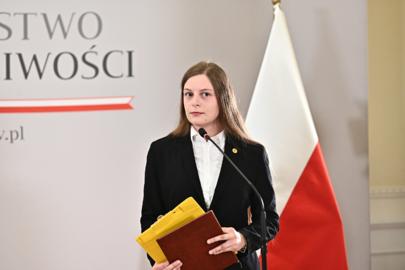 Zuzanna Wiewiórka nagrodzona przez resort Zbigniewa Ziobry