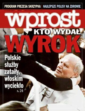 Okładka tygodnika Wprost nr 6/2007 (1259)