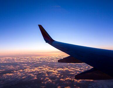Pijana 25-latka wszczęła awanturę w samolocie. Interweniowały myśliwce...