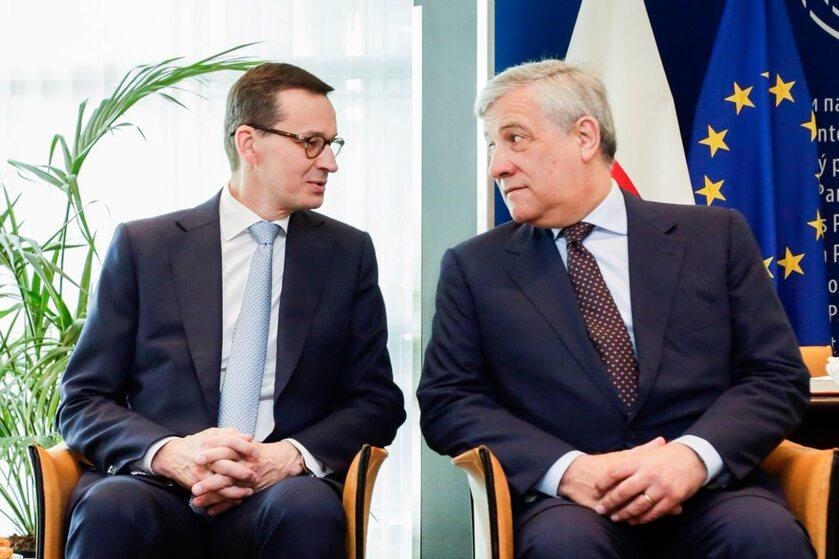 Mateusz Morawiecki i Antonio Tajani