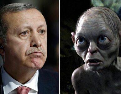 Prezydent Turcji jak Gollum? Oceni sąd
