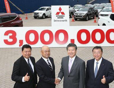 Rekord fabryki Mitsubishi - 3 miliony wyeksportowanych aut