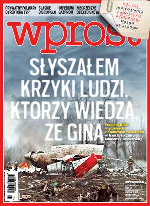 Okładka tygodnika Wprost nr 15/2013 (1572)