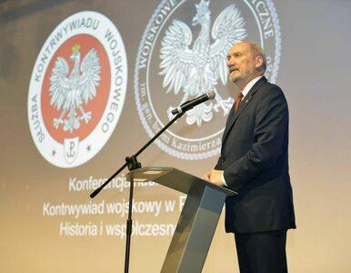 Oficjalne stanowisko szefa wojskowego kontrwywiadu ws. tekstu o...