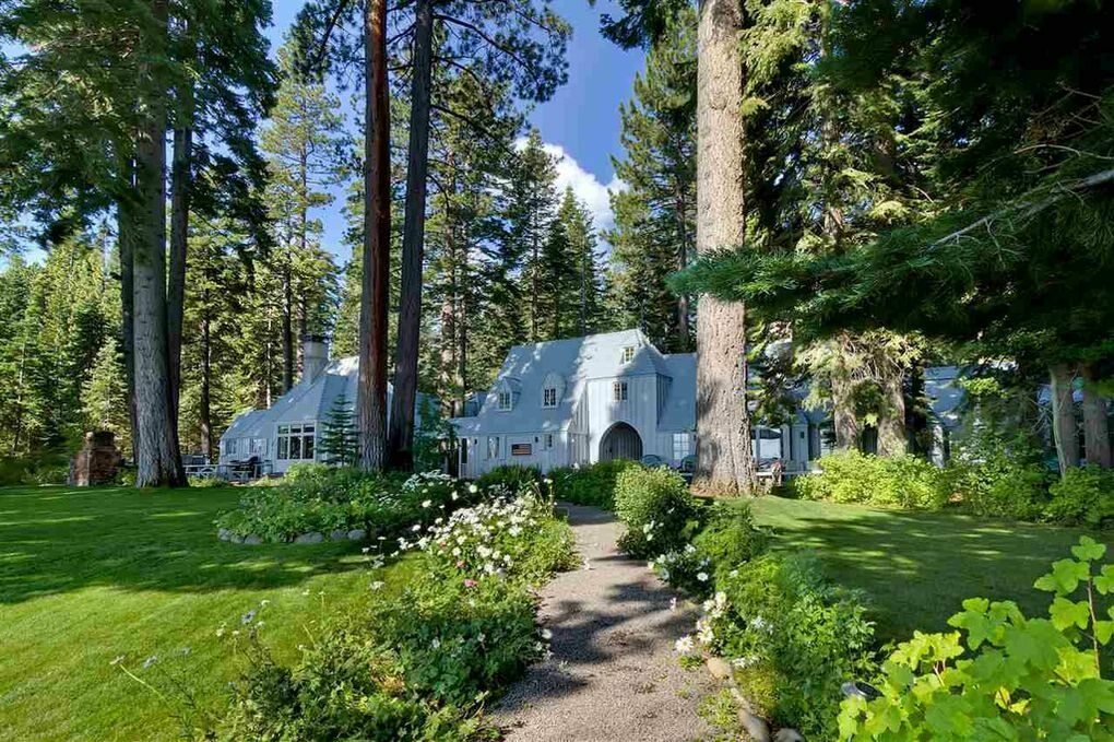 Zdjęcie posiadłości Marka Zuckerberga nad jeziorem Tahoe